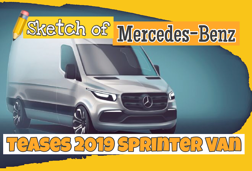 adb5a66af7e9db Mercedes-Benz Vans, the company behind the instantly recognizable Sprinter,  unveiled a teaser image of the next-generation large van.